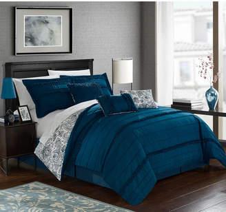 Chic Home Elle 7-Pc Queen Comforter Set Bedding