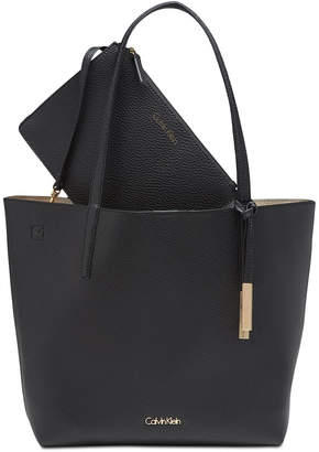 Calvin Klein Key Item Tote with Pouch