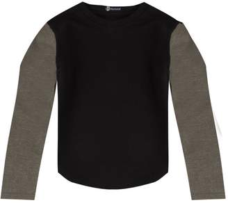 boohoo Boys Contrast Sleeve Sweat