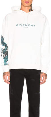 Givenchy Dragon Logo Hoodie