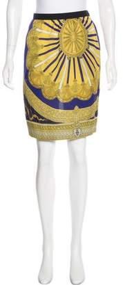 Emilio Pucci Knee-Length Silk Skirt