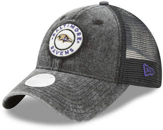 New Era Women's Baltimore Ravens Perfect Patch 9TWENTY Snapback Cap