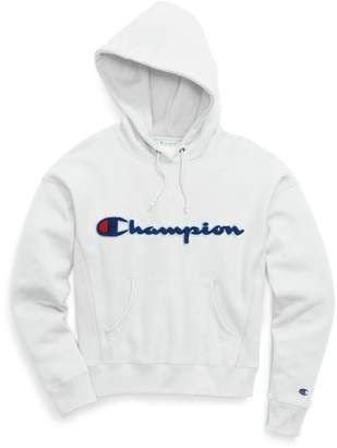 Champion Chenille Logo Reverse Weave Hoodie