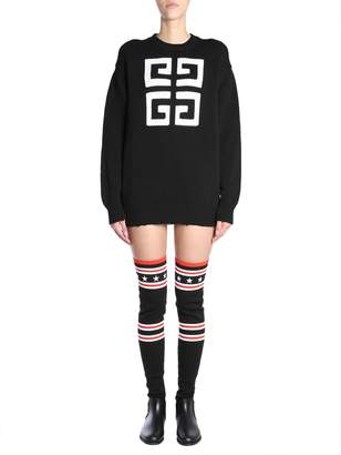 Givenchy 4g Round Collar Jumper