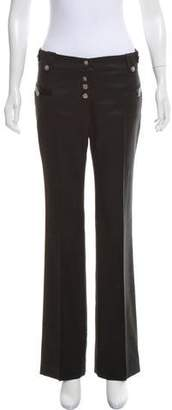 Ulla Johnson Mid-Rise Wide-Leg Pants