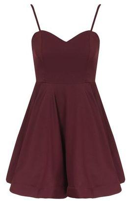 TopShop **Sweetheart Flared Dress by Glamorous Petites
