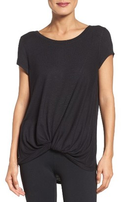 Women's Zella Twisty Turn Tee $49 thestylecure.com