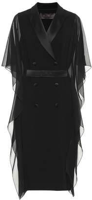 Max Mara Palomba crepe dress