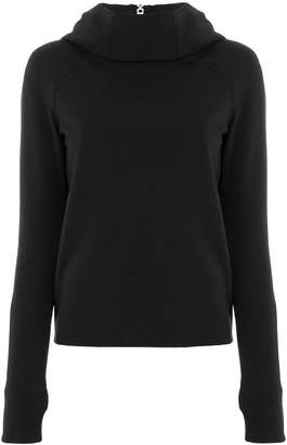 Paco Rabanne fitted funnel-neck sweater