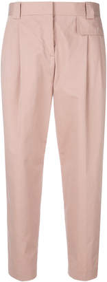 Paul Smith cropped pleated front trousers