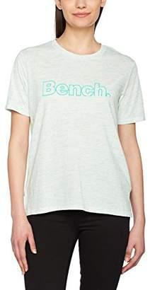Bench Women's Corp Print Tee T-Shirt, (Manufacturer Size: S)