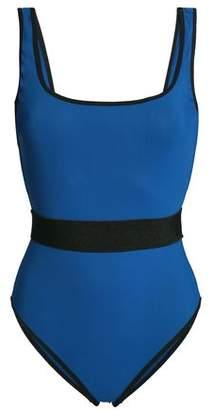 Diane von Furstenberg Two-tone Swimsuit