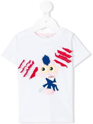 Fendi Fendirumi Cheerleader T-shirt