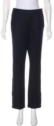 Chanel Paris-Edinburgh Mid-Rise Pants