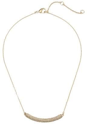 Nina Pave Bar Swarovski Necklace Necklace