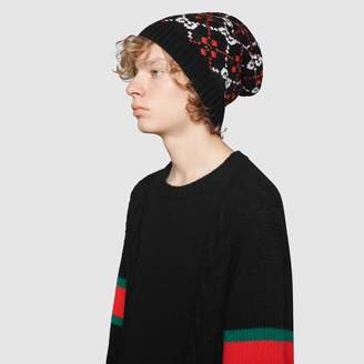 Gucci GG diamond hat