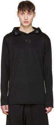 Y-3 Black Core Track Hoodie $290 thestylecure.com