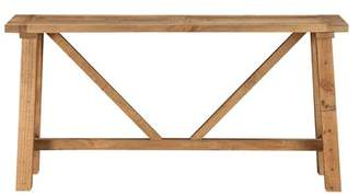 Millwood Pines Stambaugh Reclaimed Wood Console Table