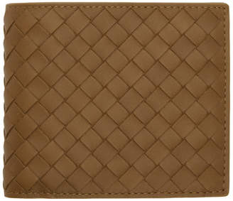 Bottega Veneta Brown Classic Intrecciato Wallet