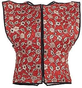 Etoile Isabel Marant Women's Mandie Floral Reversible Linen Vest