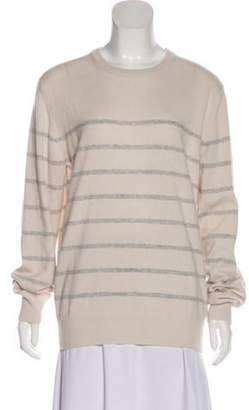 Eleventy Medium-Weight Cashmere Sweater Grey Medium-Weight Cashmere Sweater