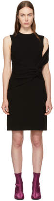 3.1 Phillip Lim Black Ribbed Twist Dress