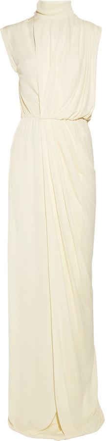 Vionnet Draped crepe gown