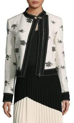 Derek Lam Tweed Moto Jacket
