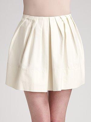 Brian Reyes Cotton Pouf Skirt