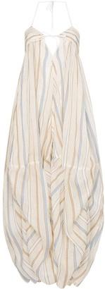Jacquemus striped oversized dress