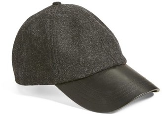 Women's Bcbgeneration Heathered Baseball Cap - Black $32 thestylecure.com