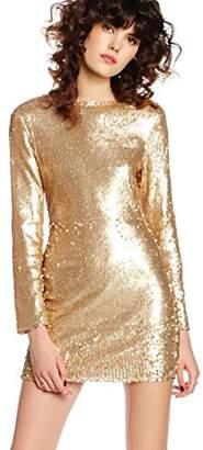boohoo Women's All Over Sequin Dress