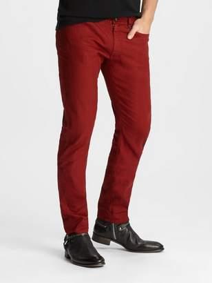 John Varvatos Linen-Blend Chelsea Jean