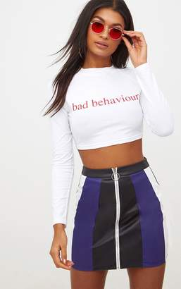 Grey Dont Bother Me Slogan Crop T Shirt Pretty Little Thing Cheap Discount Buy Cheap Sneakernews Free Shipping Prices UFnVyM0aH