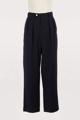 Roseanna Andrea linen and wool pants