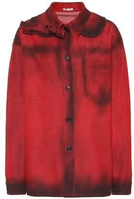 Miu Miu Oversized denim jacket