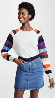 Replica Los Angeles Multi Striped Cashmere Sweater
