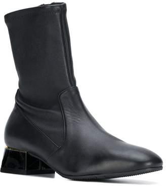 Baldinini zipped sock boots