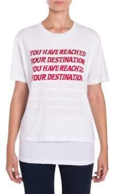 Stella McCartney Destination Graphic Tee