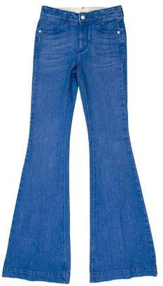 Stella McCartney Flared Mid-Rise Jeans w/ Tags