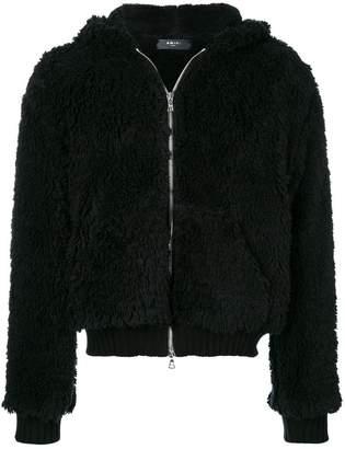Amiri Sherpa Zip hoodie