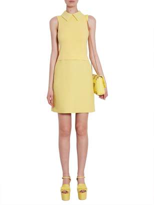 Moschino Sleeveless Collar Dress