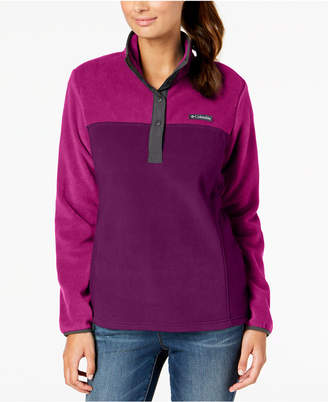 Columbia Three Lakes Colorblocked Fleece Pullover