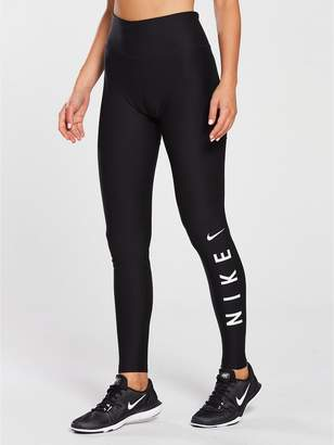 at Littlewoods · Nike Training Power 7 8 HBR Tight - Black b0a32d432