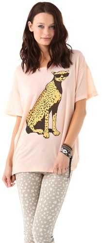 Wildfox Jungle Cat Tee
