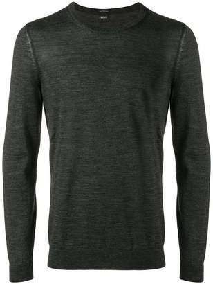 HUGO BOSS lightweight knitted jumper