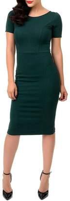 MHGS Emerald Wiggle Dress