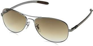 Ray-Ban RB8301 - Frame CRYSTAL BROWN GRADIENT Lenses 59mm Non-Polarized