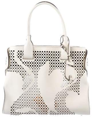 Tod's Perforated Cape Tote