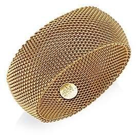 Gas Bijoux Gas Bijoux 24K Goldplated Chain Cuff Bracelet